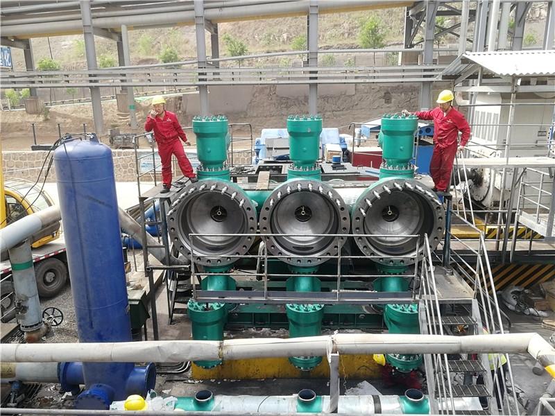 矿山输送用往复泵